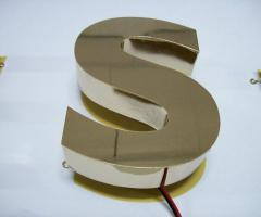 Pure Brass Letter Sign Maker in Dhaka